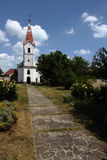 Classic church at lake Balaton Royalty Free Stock Photos