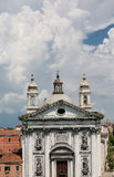 Classic Church in Venice Stock Image