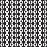 Classic circle geometric seamless vector pattern Stock Images