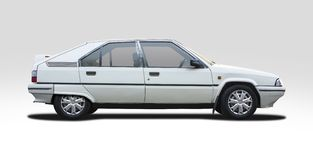 Classic Citroen BX Royalty Free Stock Images