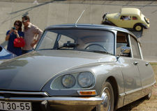 Classic Citroen DS roadster Royalty Free Stock Photography