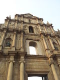 Classic city in a big world. Landmark of Macao Royalty Free Stock Photography