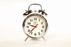 Classic Clock. On white royalty free stock photos