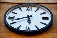 Classic Clock on building Royalty Free Stock Photos
