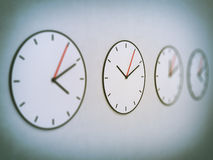 Classic clock dial Stock Photography