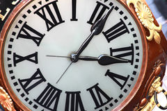 Classic clock face Stock Photos