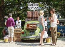 Classic coffee car Royalty Free Stock Photos