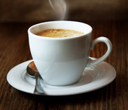 Classic Coffee Cup Stock Image