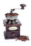 Classic coffee grinder Stock Photos