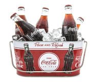 Classic Coke Botte Stock Photos