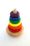 Classic colorful baby wooden toy Stock Images