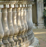 Classic Columns. Row of Classic columns royalty free stock photos