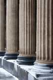 Saint-Petersburg: classic columns pattern Stock Photo