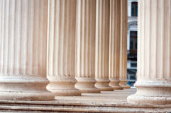Classic columns Stock Photos