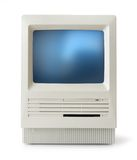 Classic computer front Stock Image