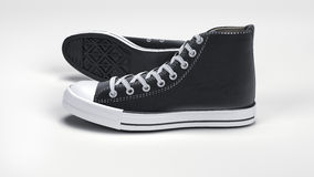 Classic Converse sneakers. Computer rendered illustration model of classic Converse sneakers Stock Photography