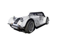 Classic convertible with clipping path Stock Images
