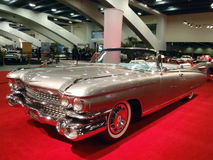Classic Convertible Car Shines on display royalty free stock images