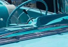 Classic convertible details Stock Images