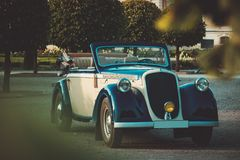 Classic convertible Royalty Free Stock Photos