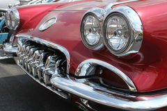 Classic Corvette Royalty Free Stock Images