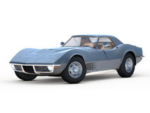 Classic Corvette (1970) Royalty Free Stock Images