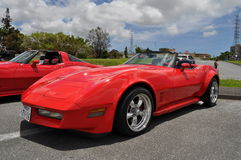 Classic Corvette Royalty Free Stock Photography