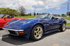 Classic Corvette Stock Photography
