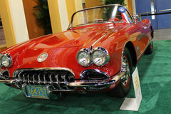 Classic Corvette Royalty Free Stock Photo