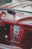 Classic Corvette dash Stock Photography