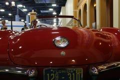 Classic Corvette rear detail Stock Image