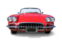 Classic Corvette Sports Car- isolated stock images