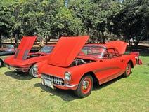 Classic Corvettes Stock Photo