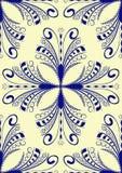 Retro damask background Royalty Free Stock Image