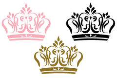 Classic crowns Royalty Free Stock Image