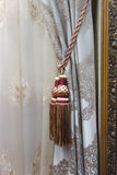 Classic curtain hanging Stock Images