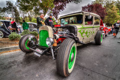 Classic Custom Rat Rod. Picture taken in HDR at the blackhawk cars and coffee  2015 ,   in Danville California by Luigi Dionisio Royalty Free Stock Images