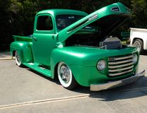 Classic customized truck Stock Images