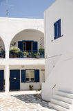 Classic Cyclades architecture Ios Greek Island Royalty Free Stock Photo