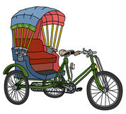 Classic cycle rickshaw Royalty Free Stock Photography