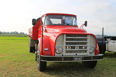 Classic DAF Truck year 1965 in a Show stock photos