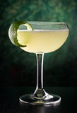 Classic Daiquiri. A delicious classic style daiquiri with rum, lime juice, and sugar Stock Photography