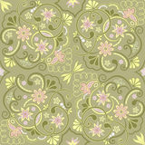 Classic damask floral pattern. Seamless floral pattern for design, vector Illustration vector illustration