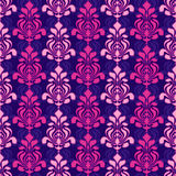 Classic damask pattern Stock Images