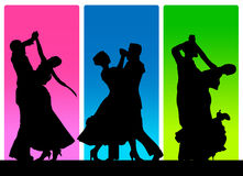 Classic dance poster Stock Photo