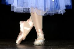 Classic dancer. Ballet world stock photos