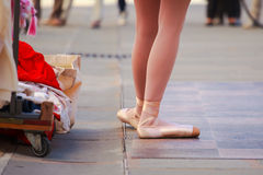 Classic dancer Stock Photography