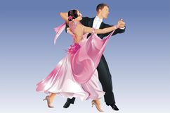 Classic Dancers Stock Photography