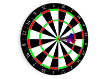 Classic Darts Board Royalty Free Stock Images