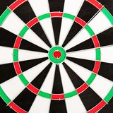 Classic Darts Board Stock Photo